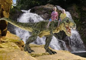 Dino Mount R and C by kenraney