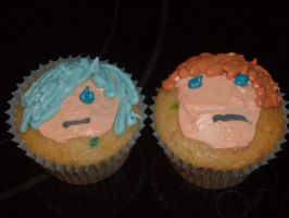 Org. Cupcakes - Lex and Zex by dracoXK