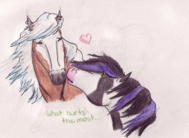 What Hurts The Most by HeartBrokenWolf123