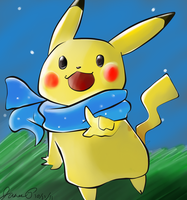 Day - 10 Pikachu by Akemijo