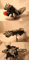 Bionicle MOC: Flying Squirrel by Rahiden