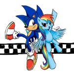 Sonic Rainboom (Without Background) by JakeRomano