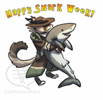 GW2 Shark Week by comixqueen