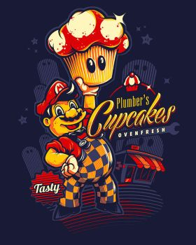 Plumber's Cupcakes by bobmosquito
