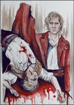 Red the blood of angry men by SallyGipsyPunk