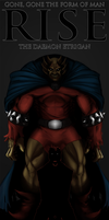 RISE - ETRIGAN THE DEMON by PaintedKing