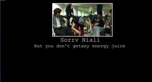 Poor Niall by IrisB74