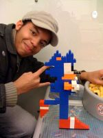 Sonic in LEGO and me. by Puzzlenoise