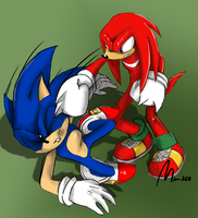 Unlike Sonic I don't chuckle... by Mm38