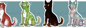 ~Dog Adopts~[2 left] by Drakan-adopts