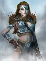 Daughters of Skyrim: The Warrior by Erulian