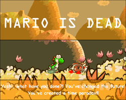 MARIO IS DEAD -Time Paradox- by UMSAuthorLava