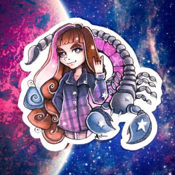 Space Scorpion Sister by amelcore