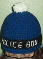 Doctor Who Tardis hat by YarnAlchemy