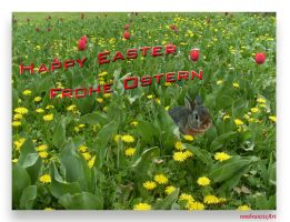 Happy Easter - Frohe Ostern by rembrantt