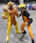 Sabertooth and Naruto by R-Legend