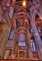 Grace Cathedral HDR by tt83x