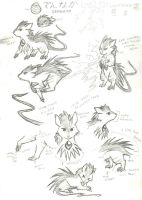 Dennaka Reference Sheet by Porcubird
