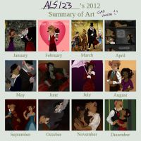 2012 (GMD) Summary of Art by ALS123