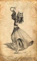 The Dancer by Vorndess