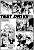 Fistful of Comics: Test Drive by JimCampbell
