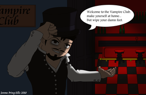 Welcome To The Vampire Club by Jerome1234