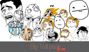 big troll pack by nothingmiss15