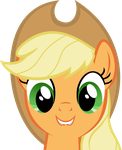 Applejack likes what she sees by Tehwatever