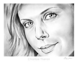 Charlize Theron by gregchapin