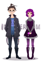 Invader Zim: Siblings by Re-DEE-Mer