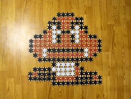 SMB3 Goomba Poker Chips by vanTol777