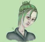 Sketchwork - Minty Green Redone by IncognitoArtist