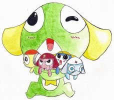 Keroro (Cuddles Collab) by No-Aengel