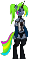 MLP - Becky the Goth. by FunkyBacon