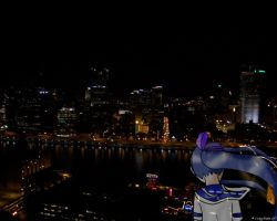 She Watches the City by Gyrick