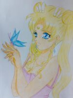Usagi Tsukino Sailor Moon by xXChrissy87Xx