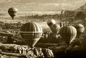 Balloons over Cappadocia 7 by CitizenFresh