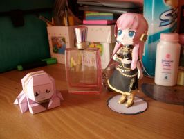 Luka and Tako Luka Papermodels:Special Shots 4 by MarcGo26