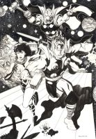 Defending Asgard by ChristopherStevens