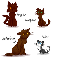 I'm going to draw all of the cats by theanimemaster2
