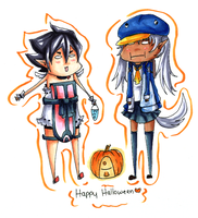 Happy Halloween 2011 by HappehCakes