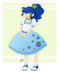 blueberry bobbysoxer by kennasaur