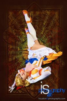 NoFlutter Sailor Venus En Recline by HollyGloha
