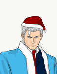 Christmas Vergil by CoolCourtney