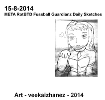 MRotBTDFG 2014 Daily Sketch 8-15 by veekaizhanez