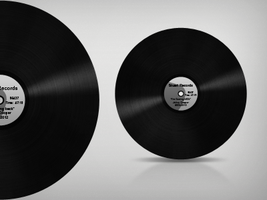 Vinyl record by nepst3r