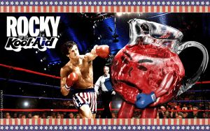 Rocky VS Koolaid by Rabittooth