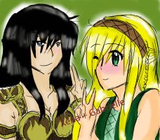 Xena + Gabby normal by dashyice