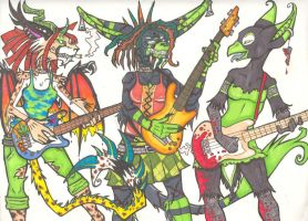 -Bass Like An Axe To The Face- by anubis-tweekthm