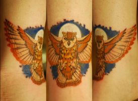 An Owl for My Mother by NateTheKnife
